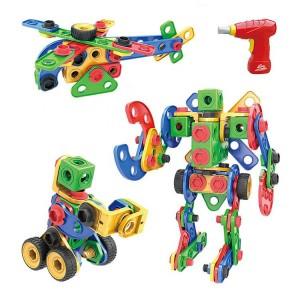 Popular Style 105pcs Building Block Toys STEM Educational Toys Construction Building Blocks Kit for Children