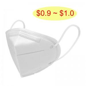 Hot Sale Face Masks Disposable 3D Fold KN95 Anti Dusty Earloop Type Mask KN95